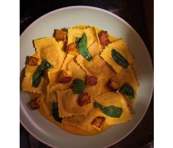 Vegan Butternut Squash & Sage Ravioli (6 servings)