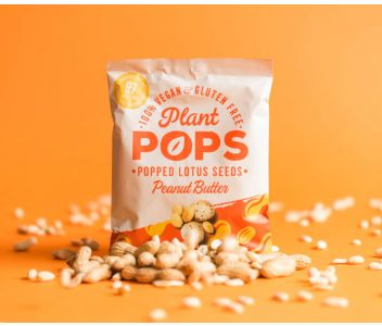 Plant Pops - Popped Lotus Seeds: Peanut Butter