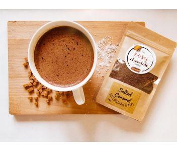Salted Caramel Drinking Chocolate