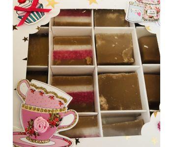 Afternoon Tea Handmade Fudge Hamper Gift Set