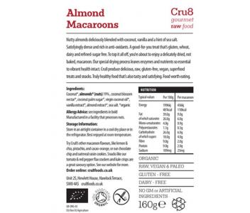 Raw Almond Macaroons