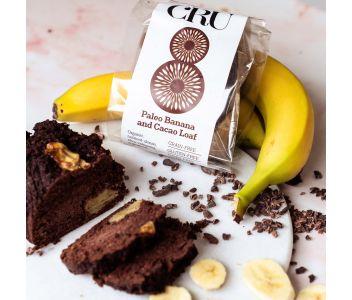 Banana & Cacao Paleo Bread