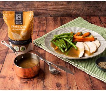 Bay's Kitchen Chicken Gravy with Thyme & Rosemary