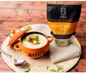 Bay's Kitchen Parsnip & Rosemary Soup