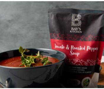 Bay's Kitchen Tomato & Roasted Pepper Soup