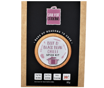 Beef & Black Bean Chilli Spice Kit 10 servings