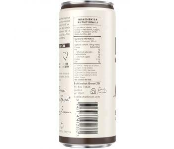 Bottleshot Cold Brew Coffee Black (250ml Slim Can)
