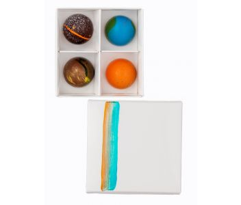 Classic Box of 4 Chocolate Bonbons