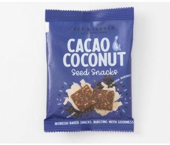 Pep & Lekker Cacao & Coconut seed snacks (box of 5)