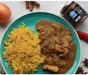 Trio of Curry Pastes