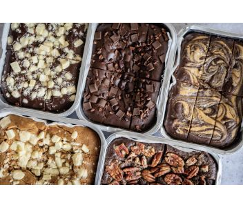 Salted Date Caramel Brownies | Gluten Free, Dairy Free, Vegan & Refined Sugar Free