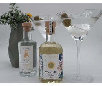 Dirty Gin Martini Cocktail Box