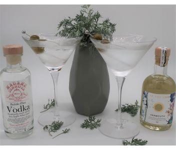 Dirty Vodka Martini Cocktail Box