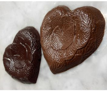 Award-Winning 75% Solomon Islands Dark Chocolate Heart