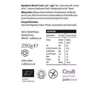 Fig & Apple Paleo Bread