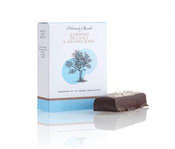 Cornish Sea Salt Caramel Chocolate Bar ( 3 boxes 2 bars per box)