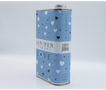 THE CUPID, LOVE TIN BLUE – FULL OF DELICIOUS GIN