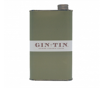 RHUBARB, CINNAMON & GINGER, GIN NO.6 – 50CL TIN
