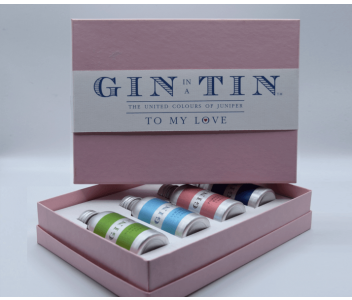 THE LOVE GIN TIN, GIFT BOX SET