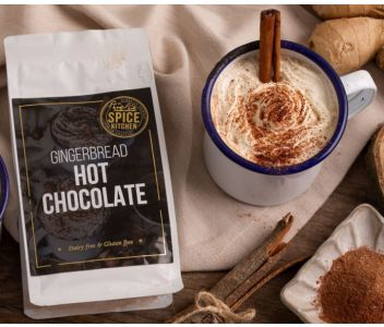 SPICE KITCHEN GINGERBREAD HOT CHOCOLATE