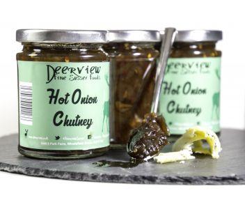 Hot Onion Chutney