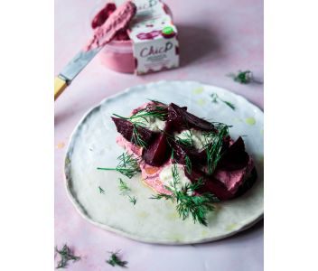 ChicP Beetroot & Horseradish Hummus