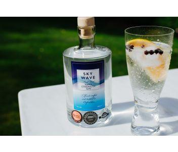 Sky Wave London Dry Gin Navy Strength (57% ABV) [200ml]