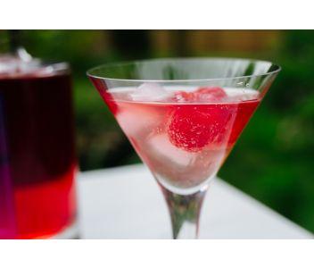 Sky Wave Raspberry and Rhubarb Gin (42% ABV) [200ml]