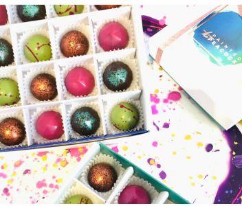 Vegan Box of 16 Chocolate Bonbons