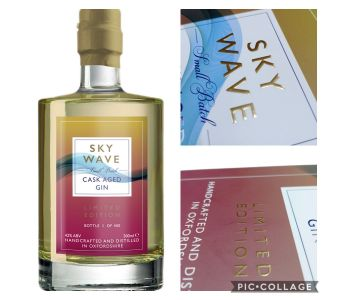 Limited Edition Cask Aged Gin (42% ABV) 500ml
