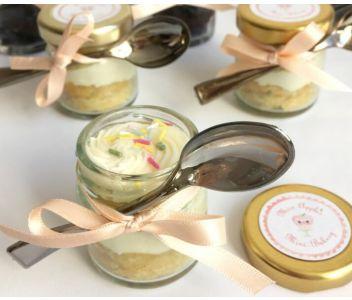 Mini Cake Jars - Box of 8
