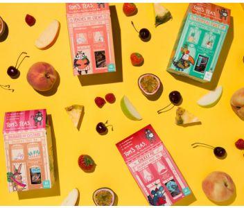 Peaches and Cream - children's fruit tea