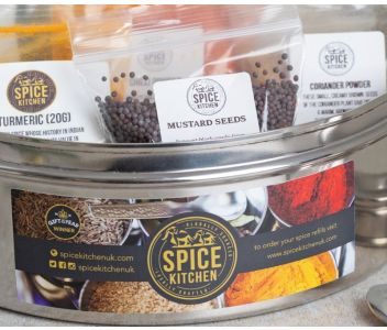 INDIAN SPICE TIN   9 SPICES   GIFT OF THE YEAR WINNER