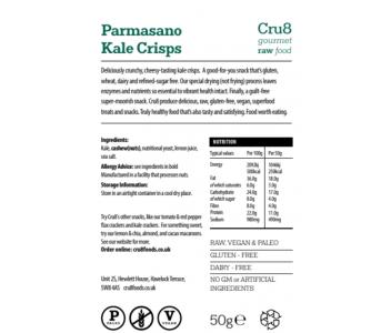 Raw Chee*y Kale Crisps