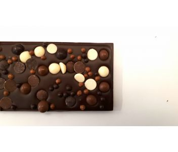 Dark Chocolate 'Loaded' Tablette