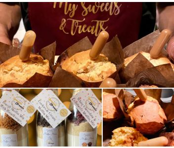 Lotus Biscoff Muffin Mix Baking Gift Set With Gift Box