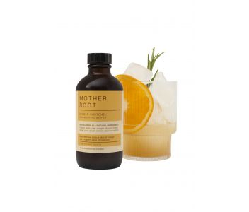 Ginger Switchel non-alcoholic aperitif, 120ml charity bottle