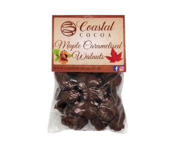 Maple Caramelised Walnuts
