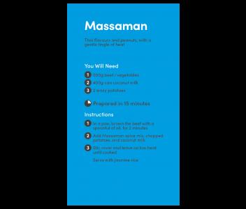 Massaman Curry Spice Kit
