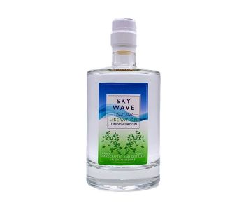 NEW Sky Wave Liberation London Dry Gin (42% ABV) [500ml]