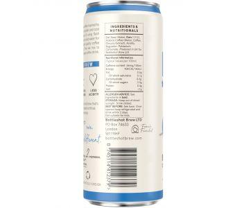Bottleshot Cold Brew Coffee Oat M*lk (250ml Slim Can)