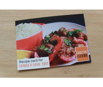 Orange and Basil Beef Spice Kit 8 servings