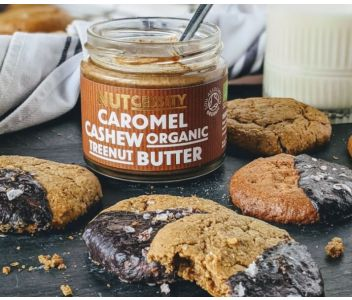 Organic Caromel Cashew Nut Butter - 2 Pack