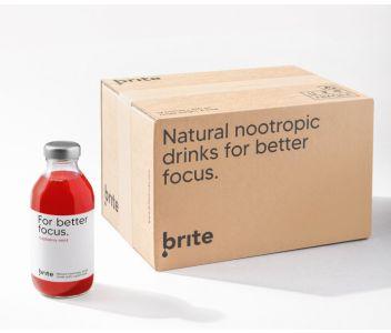 Brite For Better Focus - Raspberry Mint (Box of 12)