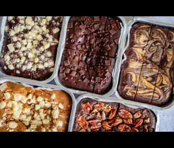 Peanut Butter Brownies | Gluten Free, Dairy Free, Vegan & Refined Sugar Free
