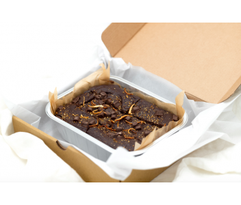 Chocolate Orange Brownies | Gluten Free, Dairy Free, Vegan & Refined Sugar Free
