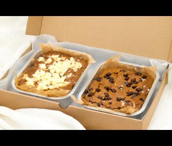 Salted Almond Butter and Chocolate Chip Blondies | Vegan, Gluten & Refined Sugar Free