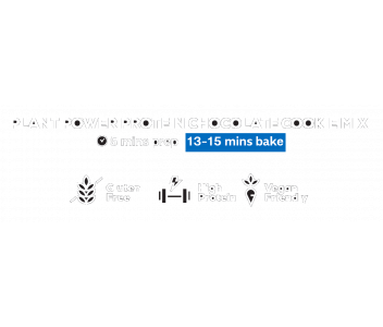 Plant Power Protein Chocolate Cookie Mix 200g