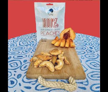100% Air Dried Peaches