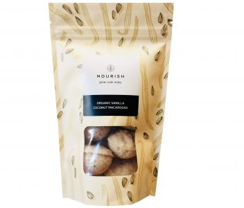 Organic Vanilla Coconut Macaroons